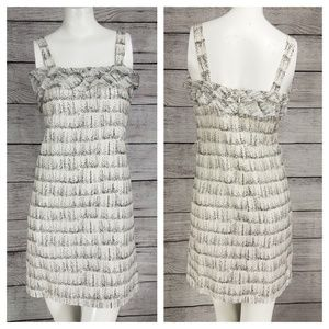 Ann Taylor LOFT Petite Sleeveless Mini Dress Silk